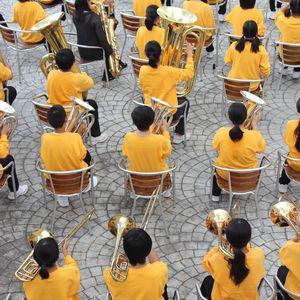 吹奏楽部のクラスオリジナルTシャツはカラバリを活かしたデザインがおすすめ