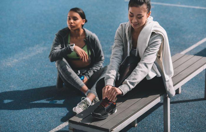 汗を吸い取る!運動するときはスポーツウェアにスウェットを取り入れよう