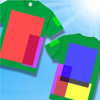 オリジナルクラスTシャツ製作などで人気商品のプリント最大サイズを大公開!!