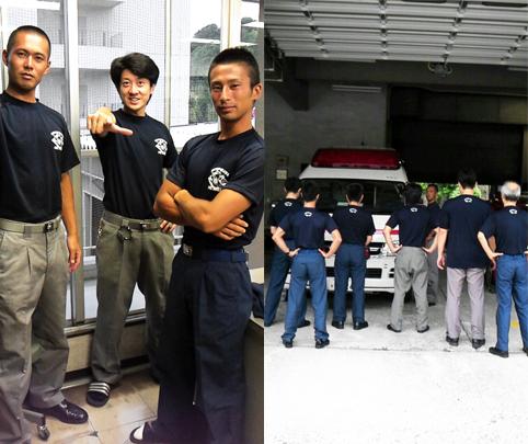 東京渋谷店で制服用のTシャツを作成いただきました(江頭様)