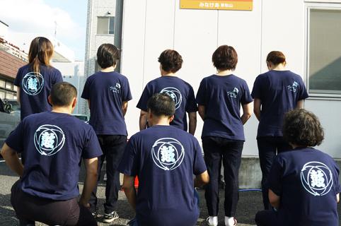 東京渋谷店でダンス衣装用のオリジナルTシャツを作成いただきました(加藤様)