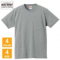 UnitedAthle(ユナイテッドアスレ)7.1オンスオーセンティックスーパーヘヴィーウェイトTシャツ(ポケット付)