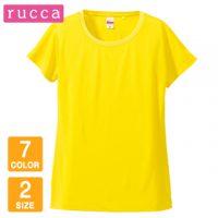 rucca(ルッカ)4.7オンスドライシルキータッチXラインTシャツ【在庫限り】