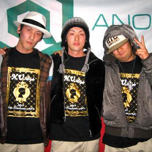 名古屋店でダンス衣装用のオリジナルTシャツを作成いただきました(木野寛生様)