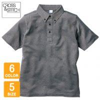 CROSS&STITCH(クロスアンドスティッチ)ビズスタイルBDポロシャツ