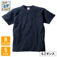 CROSS&STITCH(クロスアンドスティッチ)オープンエンドマックスウェイトバインダーネックTシャツ