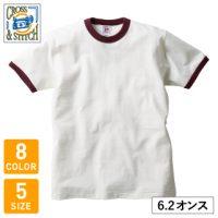 CROSS&STITCH(クロスアンドスティッチ)オープンエンドマックスウェイトリンガーオリジナルTシャツ