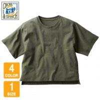 CROSS&STITCH(クロスアンドスティッチ)オープンエンドマックスウェイトウィメンズオーバーTシャツ