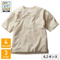 CROSS&STITCH(クロスアンドスティッチ)オープンエンドマックスウェイトメンズオーバーTシャツ