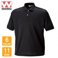 wundou(ウンドウ)タフドライポロシャツ