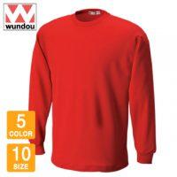 wundou(ウンドウ)タフドライ長袖Tシャツ