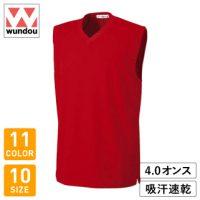 wundou(ウンドウ)ベーシックバスケットシャツ