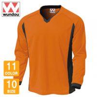 wundou(ウンドウ)ベーシックロングスリーブサッカーシャツ