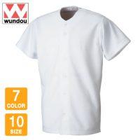 wundou(ウンドウ)ベーシックベースボールシャツ