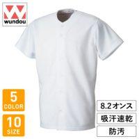 wundou(ウンドウ)ベーシックベースボールシャツ※