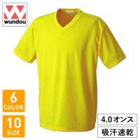 wundou(ウンドウ)ドライライトVネックTシャツ