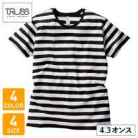 TRUSS(トラス)ボーダーTシャツ