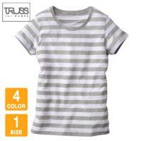 TRUSS(トラス)ウィメンズボーダーTシャツ