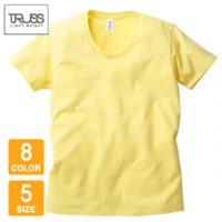 TRUSS(トラス)スリムフィットUネックTシャツ
