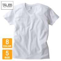 TRUSS(トラス)スリムフィットVネックTシャツ