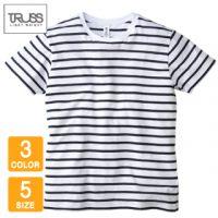 TRUSS(トラス)ナローボーダーTシャツ