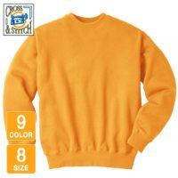 CROSS&STITCH(クロスアンドスティッチ)レギュラーウェイトスウェットシャツ