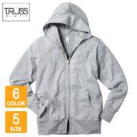 TRUSS(トラス)ジャージージップパーカ※