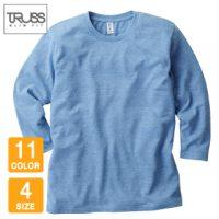TRUSS(トラス)トライブレンド3/4スリーブTシャツ