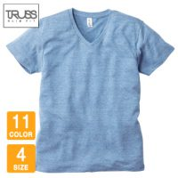 TRUSS(トラス)トライブレンドVネックTシャツ