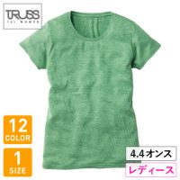 TRUSS(トラス)トライブレンドウィメンズTシャツ※