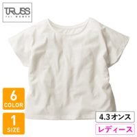 TRUSS(トラス)ウィメンズドルマンTシャツ