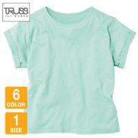 TRUSS(トラス)ウィメンズロールアップTシャツ